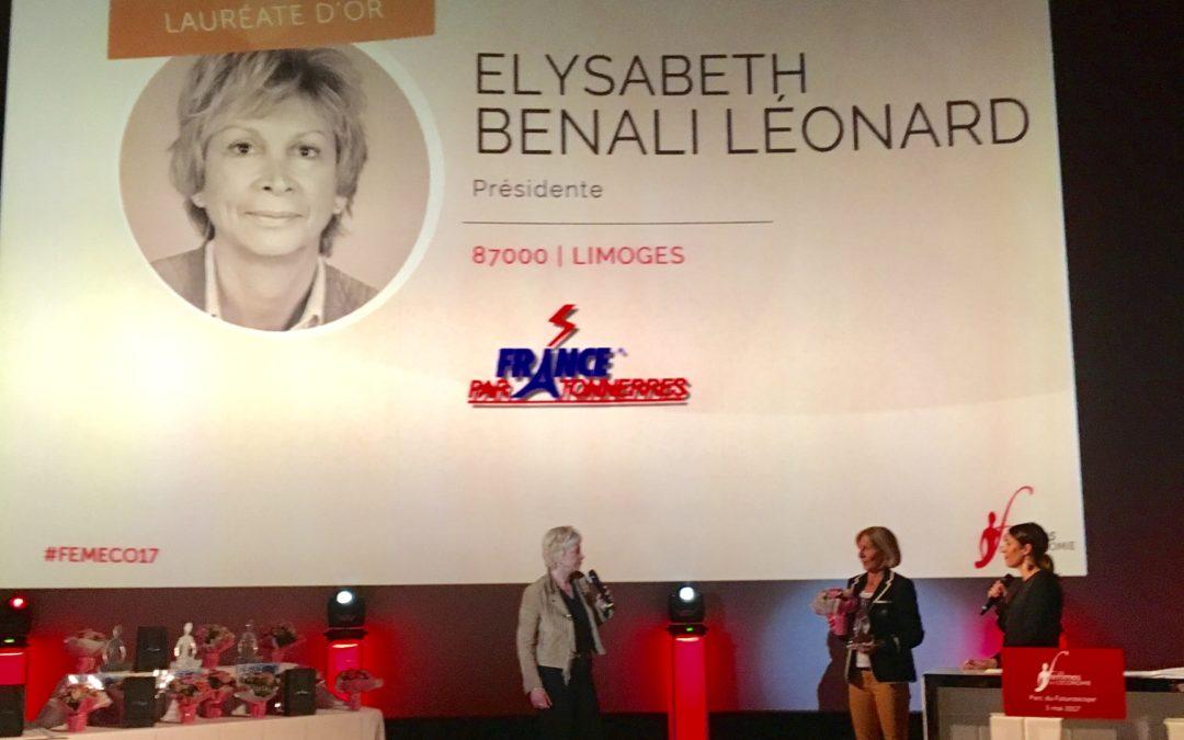 Lauréat d'Or – Trophée Femmes de l'Economie 2017