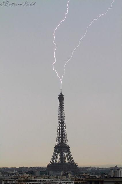 France : A record in lightning activity