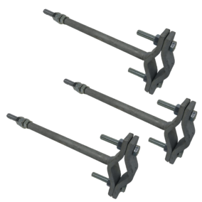 12 019 – Set of 3 screwing clamps
