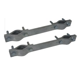 12 020 – Set of 2 extended fixing bracket of 240 mm