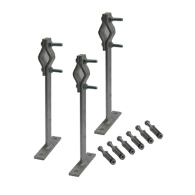 12 023 – Set of 3 bolting clamps of 300 mm