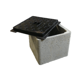80 136 – Concrete base for inspection