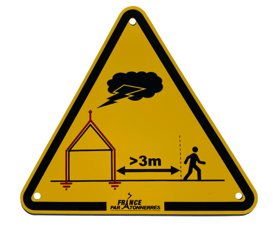 16 014 – Nouvelle plaquette d'avertissement orage