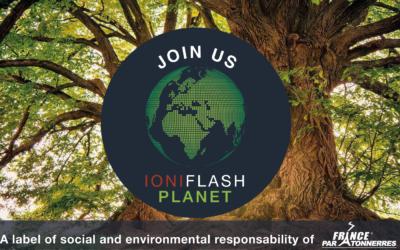 Rejoignez notre réseau IONIFLASH PLANET!
