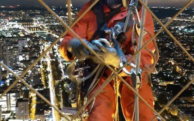 Obras en la Torre Eiffel